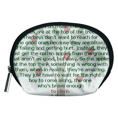 Girls Are Like Apples Accessory Pouch (medium)