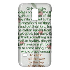 Girls Are Like Apples Samsung Galaxy S5 Mini Hardshell Case