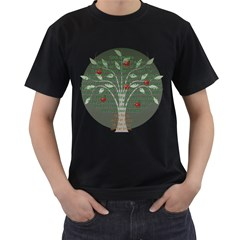 Appletree Men s Two Sided T-shirt (Black)