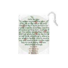 Appletree Drawstring Pouch (Small)
