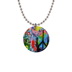 The Sixties Button Necklace