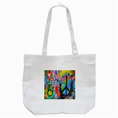 The Sixties Tote Bag (white)