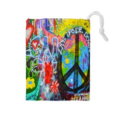 The Sixties Drawstring Pouch (Large)