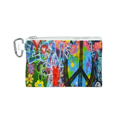 The Sixties Canvas Cosmetic Bag (Small)
