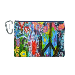 The Sixties Canvas Cosmetic Bag (Medium)