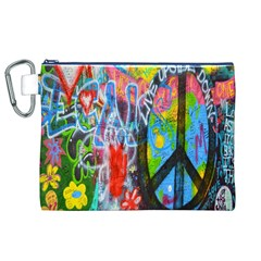 The Sixties Canvas Cosmetic Bag (XL)