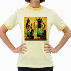 Egyptian Queens Women s Ringer T-shirt (Colored)