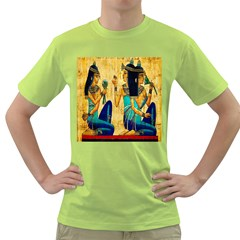 Egyptian Queens Men s T-shirt (Green)