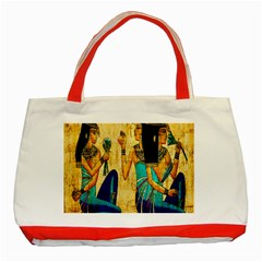 Egyptian Queens Classic Tote Bag (red)