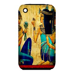 Egyptian Queens Apple Iphone 3g/3gs Hardshell Case (pc+silicone)