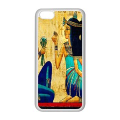 Egyptian Queens Apple iPhone 5C Seamless Case (White)