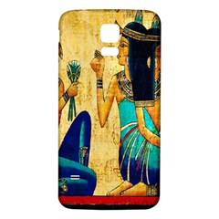 Egyptian Queens Samsung Galaxy S5 Back Case (White)