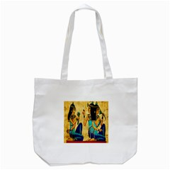 Egyptian Queens Tote Bag (white)