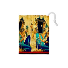 Egyptian Queens Drawstring Pouch (Small)