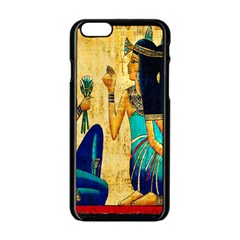 Egyptian Queens Apple iPhone 6 Black Enamel Case