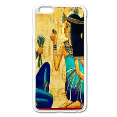 Egyptian Queens Apple Iphone 6 Plus Enamel White Case