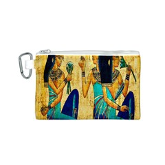 Egyptian Queens Canvas Cosmetic Bag (Small)