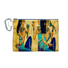 Egyptian Queens Canvas Cosmetic Bag (Medium)
