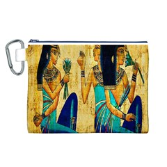 Egyptian Queens Canvas Cosmetic Bag (Large)