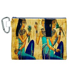Egyptian Queens Canvas Cosmetic Bag (XL)
