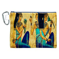 Egyptian Queens Canvas Cosmetic Bag (XXL)