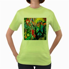 The Sixties Women s T-shirt (Green)