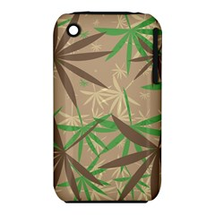 Leaves Apple iPhone 3G/3GS Hardshell Case (PC+Silicone)