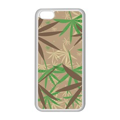 Leaves Apple Iphone 5c Seamless Case (white)
