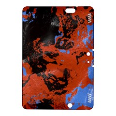 Orange blue black texture 	Kindle Fire HDX 8.9  Hardshell Case