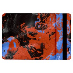 Orange Blue Black Texture 	apple Ipad Air Flip Case