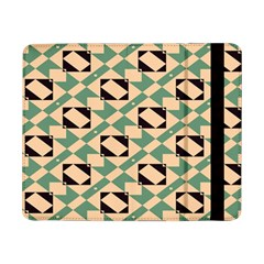 Brown green rectangles pattern 	Samsung Galaxy Tab Pro 8.4  Flip Case