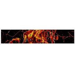 On Fire Print Flano Scarf (large)