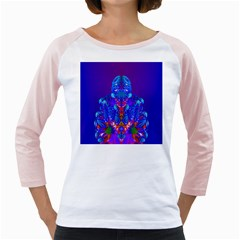 Insect Women s Long Cap Sleeve T-Shirt (White)