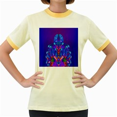 Insect Women s Ringer T Shirt (colored)