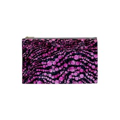 Cheetah Bling  Cosmetic Bag (small)
