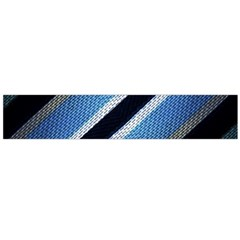 Geometric Stripes Print Flano Scarf (large)