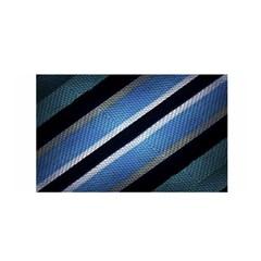 Geometric Stripes Print Satin Wrap