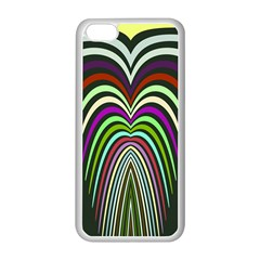 Symmetric waves Apple iPhone 5C Seamless Case (White)