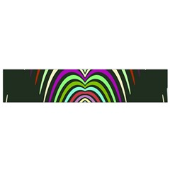 Symmetric waves Flano Scarf