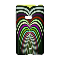 Symmetric waves Nokia Lumia 625 Hardshell Case