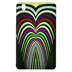 Symmetric waves 	Samsung Galaxy Tab Pro 8.4 Hardshell Case