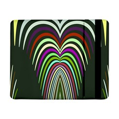Symmetric waves 	Samsung Galaxy Tab Pro 8.4  Flip Case