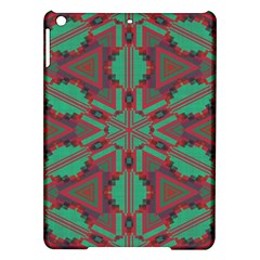 Green tribal star Apple iPad Air Hardshell Case