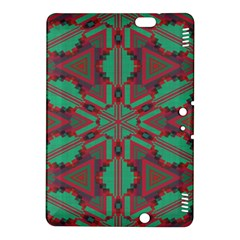 Green Tribal Star Kindle Fire Hdx 8 9  Hardshell Case