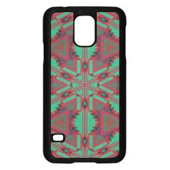 Green tribal star Samsung Galaxy S5 Case