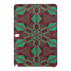 Green tribal star 	Samsung Galaxy Tab Pro 12.2 Hardshell Case
