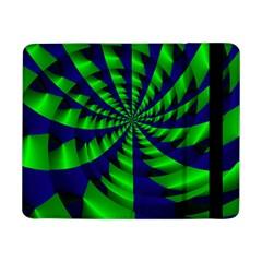 Green blue spiral Samsung Galaxy Tab Pro 8.4  Flip Case