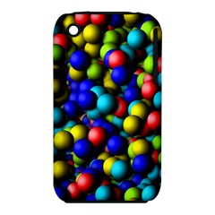 Colorful balls Apple iPhone 3G/3GS Hardshell Case (PC+Silicone)