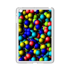 Colorful balls Apple iPad Mini 2 Case (White)