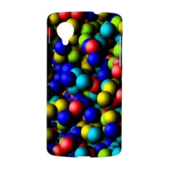 Colorful balls Google Nexus 5 Hardshell Case